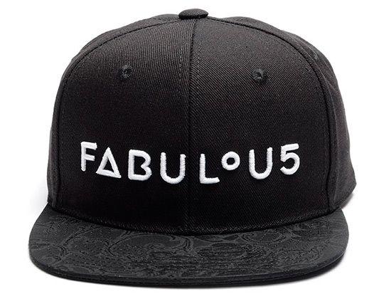 "URBAN FLAVOURS ""Fabulous"" Snapback Cap Crooks And Castles f6bb0bfadbb"