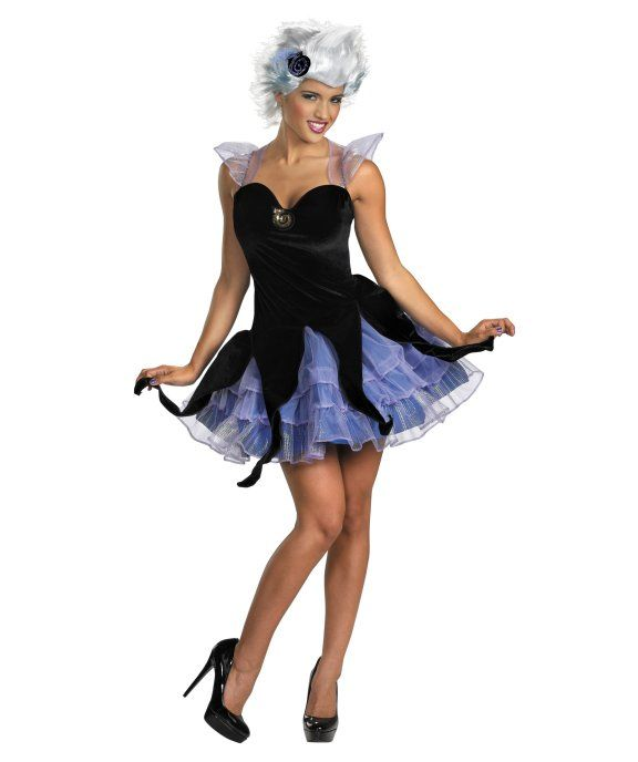 Share CoolGlow with you Friends and Receive 5% on your order. Disney The Little Mermaid - Sassy Ursula Adult Costume - Coolglow.com #http://pinterest.com/coolglow/