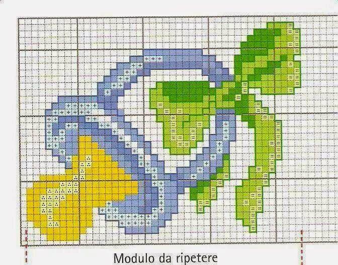 Super Maglia Uncinetto Punto Croce Schemi Gratis | Biberones, chupetes  TQ37