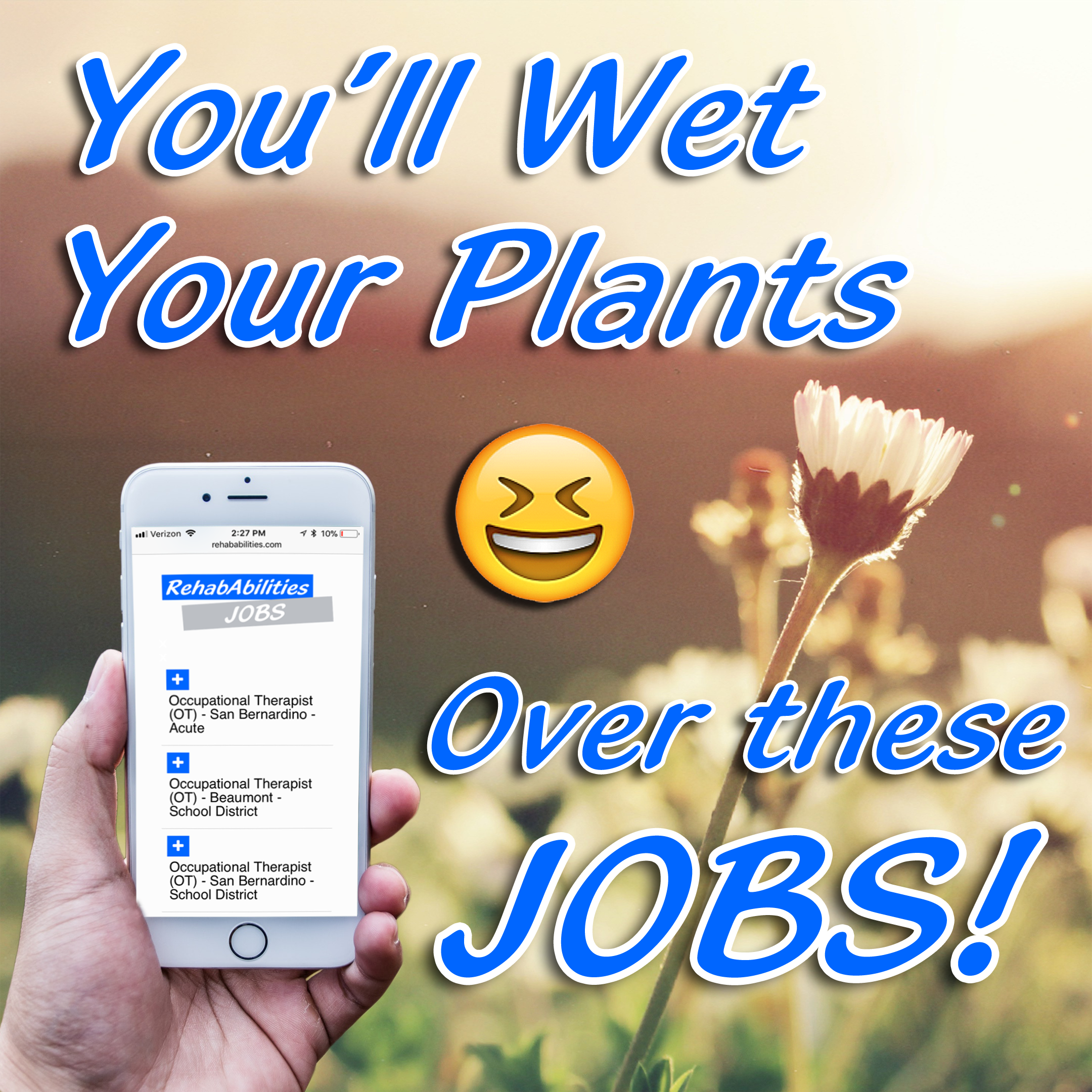 Spring Is Here Caregivers To Celebrate We Have Job Opportunities For You That Are So Good Yo Therapist School Social Services Physical Therapy Assistant