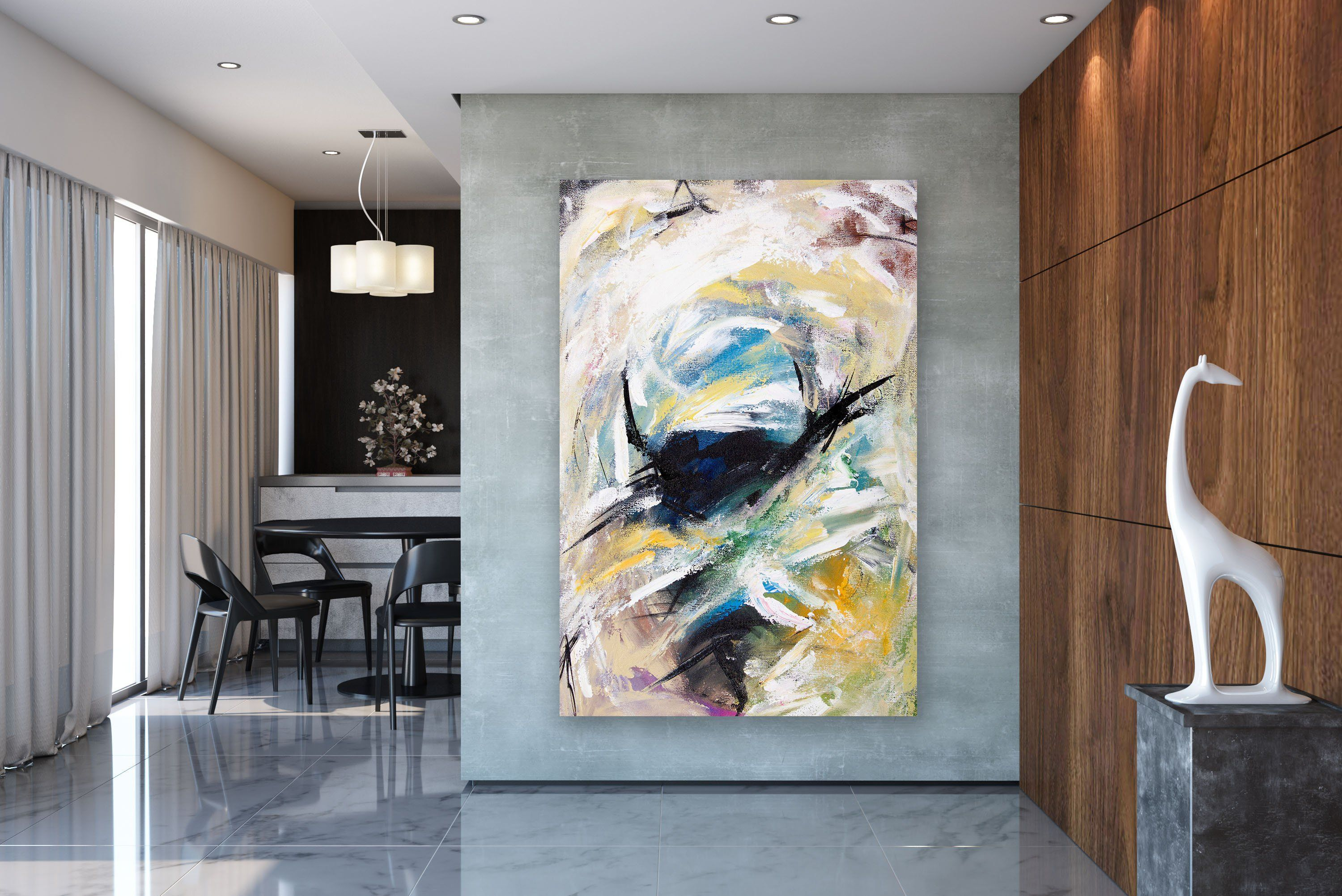 Large Abstract Painting Modern Abstract Painting Painting Home Decor Painting On Canvas Modern Abstract Textured Modern Art Abstract Painting Abstract Wall Art