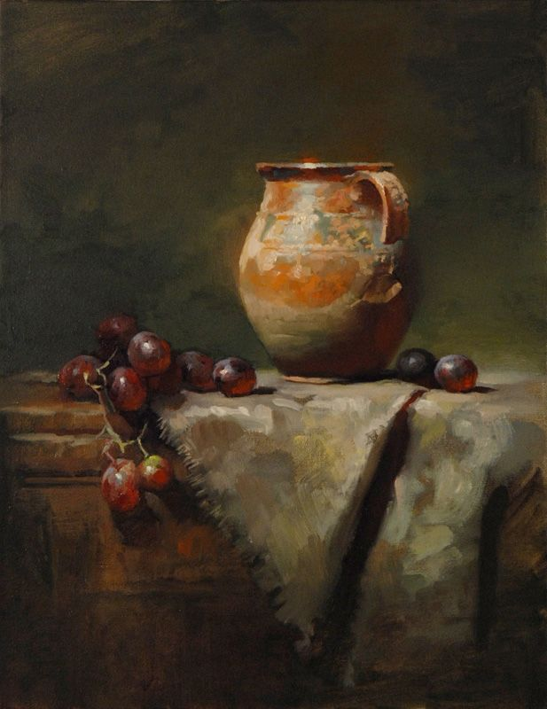 "Gold Medal ""Jug with Broken Handle"" by Charles Young Walls $5,000 18"" x 14"""