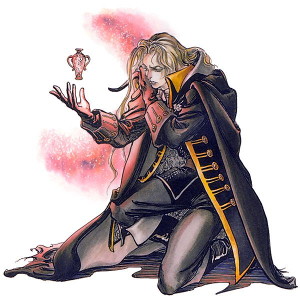 Alucard & Potion from Castlevania: Symphony of the Night