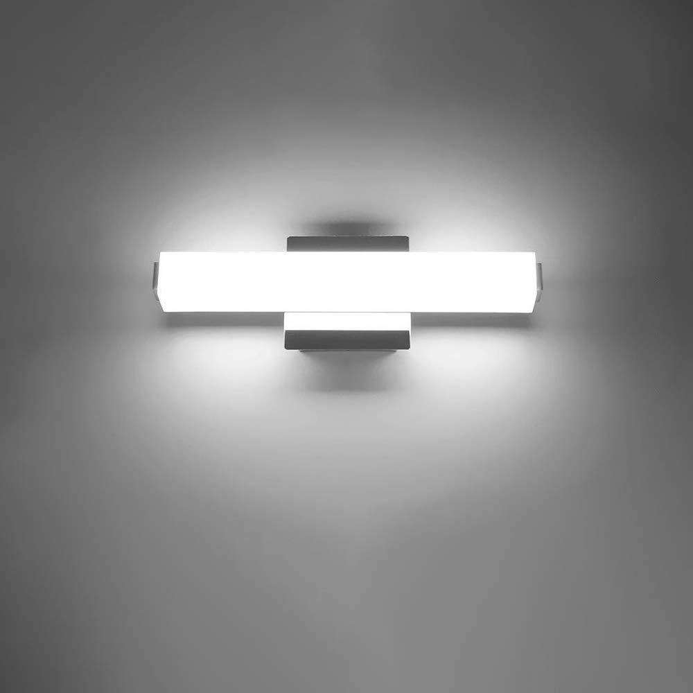 Ikakon 14w Led Vanity Lights 24 4in Bathroom Lighting Fixture Wall Lamp Make Up Mirror Front Light Natur Bathroom Light Fixtures Led Vanity Lights Wall Lights Bathroom wall mount light fixtures