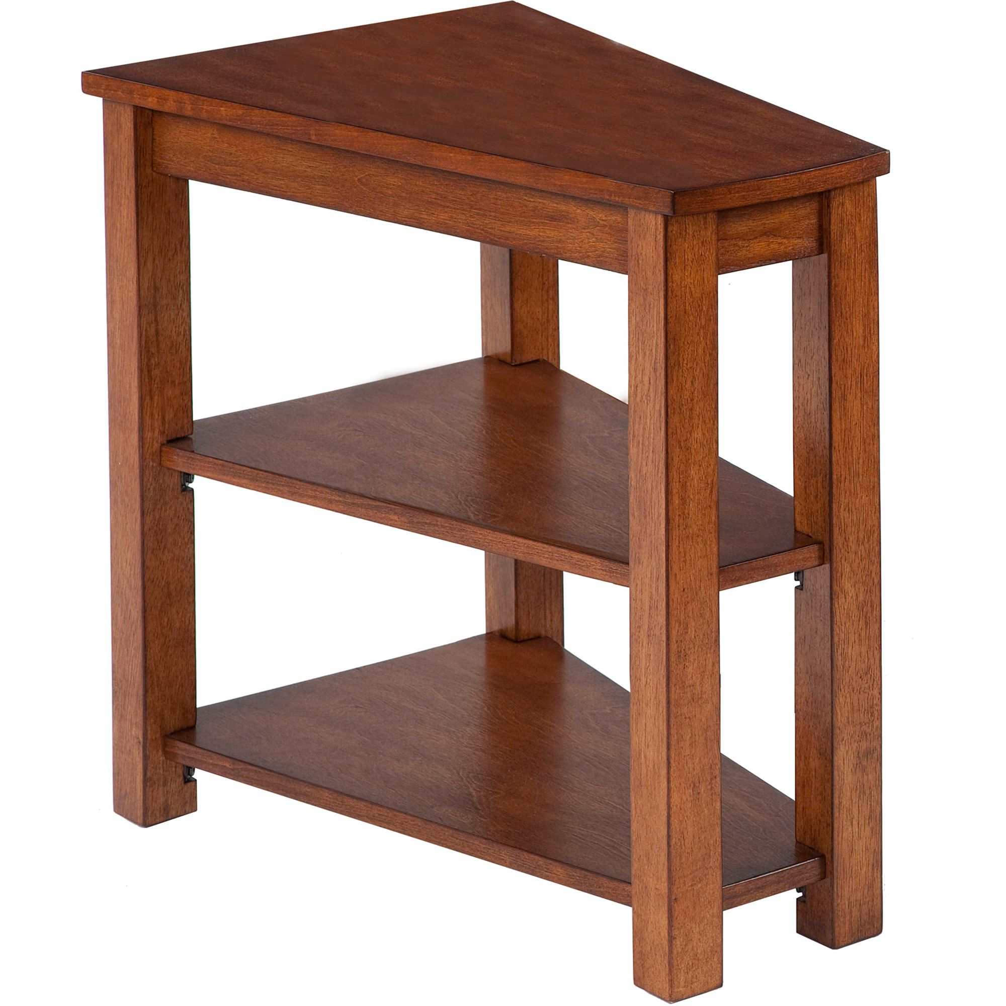 Best Chairside Table With Shelf In Brown Progressive 400 x 300