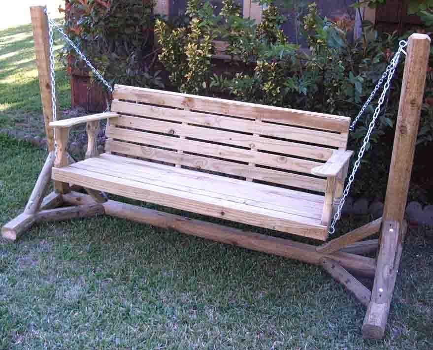 Porch Swing A Frame Plans Photos