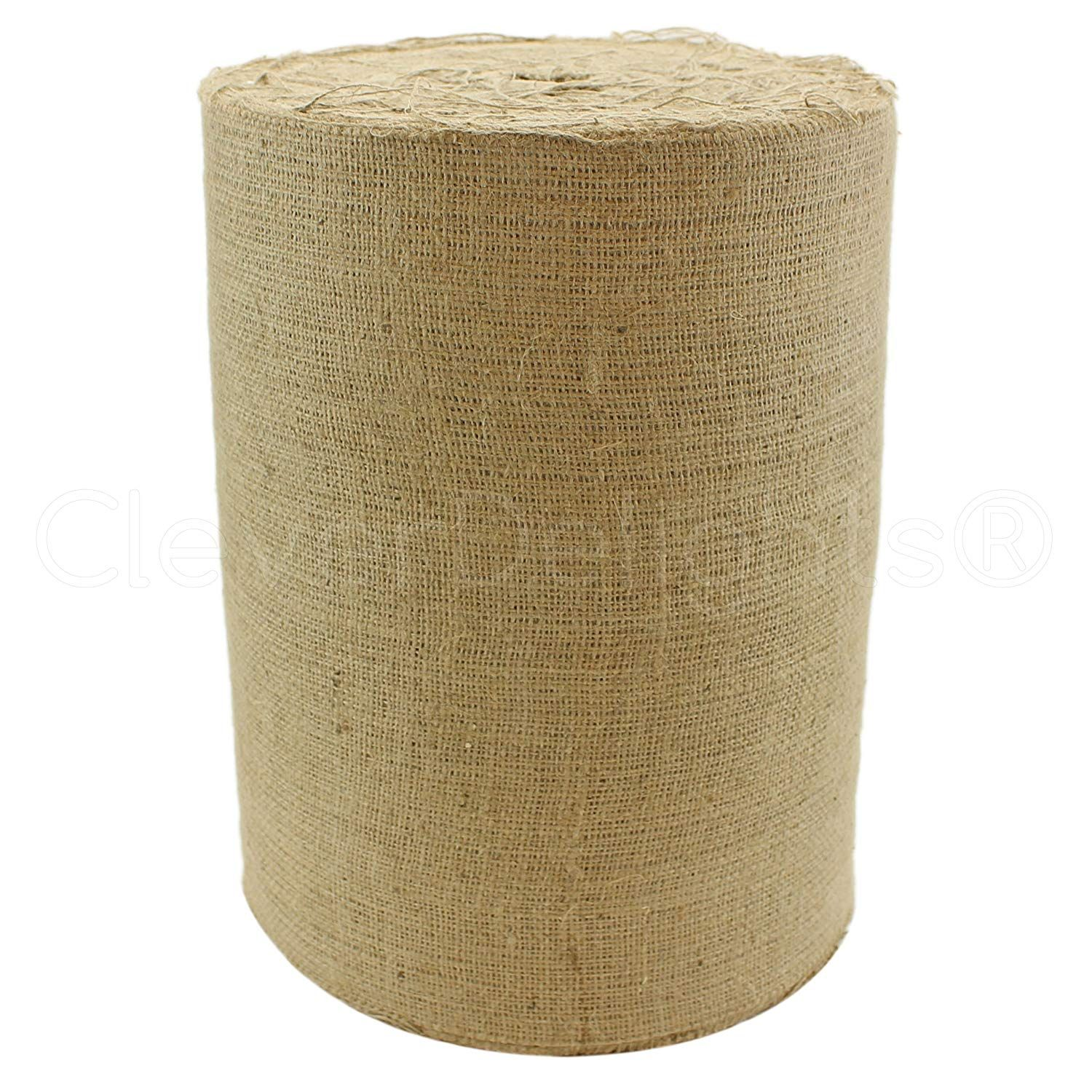 Cleverdelights 14 Natural Burlap Industrial Grade 100 Yard Roll Tight Weave Jute Burlap Fabric To View Further For This I In 2020 Burlap Fabric Burlap Weaving