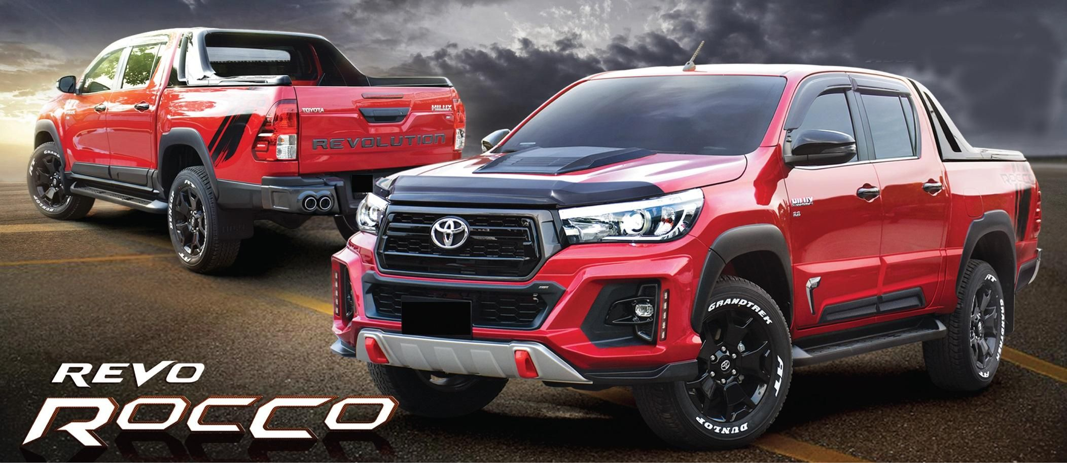 New Body kit For Toyota hilux Revo Rocco 2018 image 1 ...
