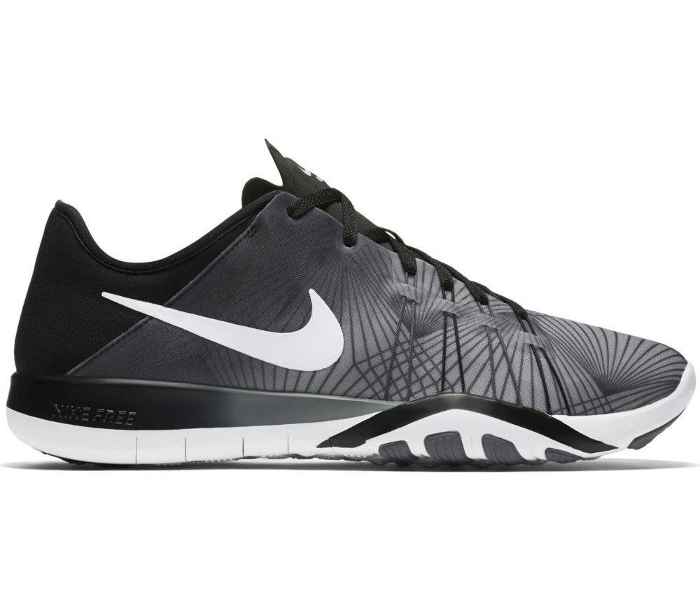 Nike - Free 6 Print women s training shoes (grey white)  44f23a790c6