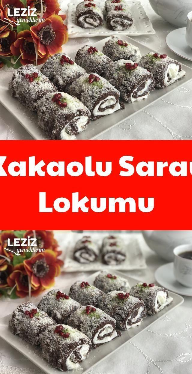 Kakaolu Saray Lokumu #kokteyltarifleri