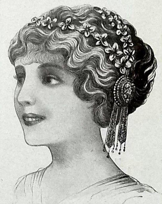 Edwardian Bandeau Hair Ornament