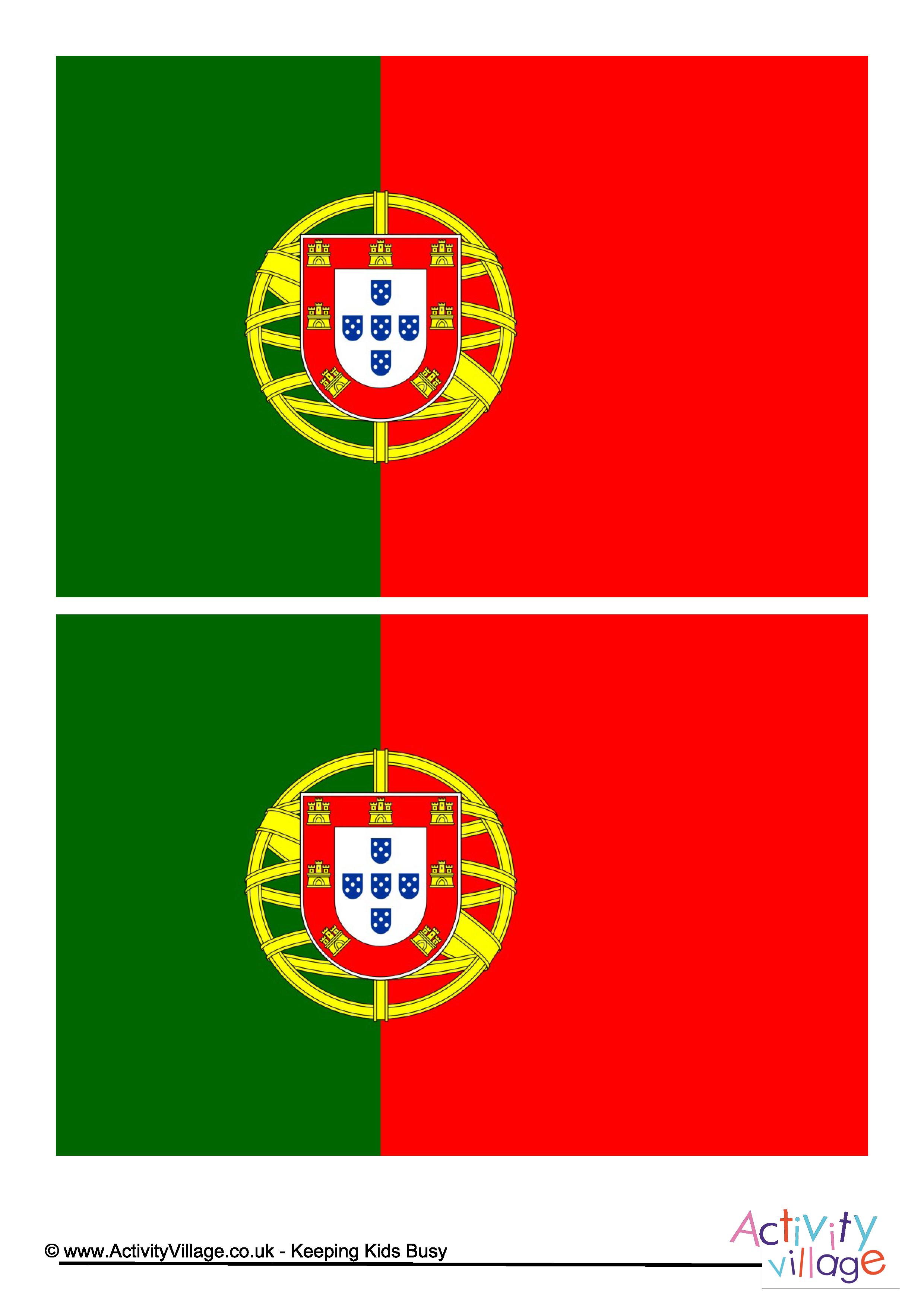 Portugal Flag Download this free printable Portugal