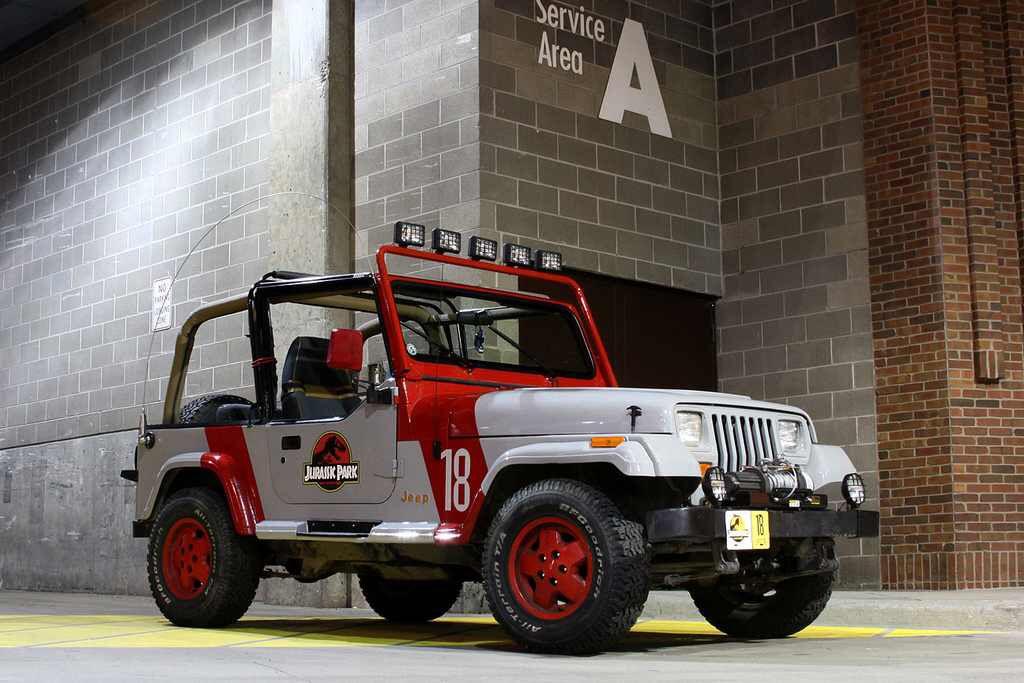 1992 Jeep Wrangler Sahara Jurassic Park Edition Jurassic Park Jeep Jeep Jeep Wrangler Yj
