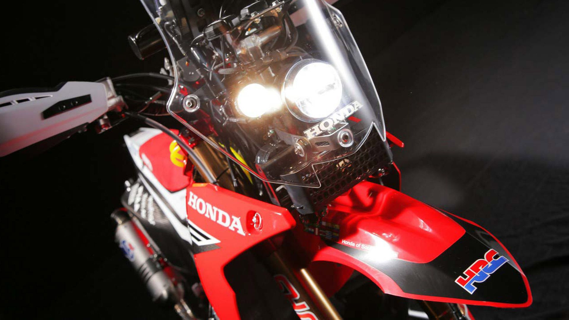 Dual Hand Lamp 2014 Honda Crf450 Rally 2014 Honda Crf450 Rally