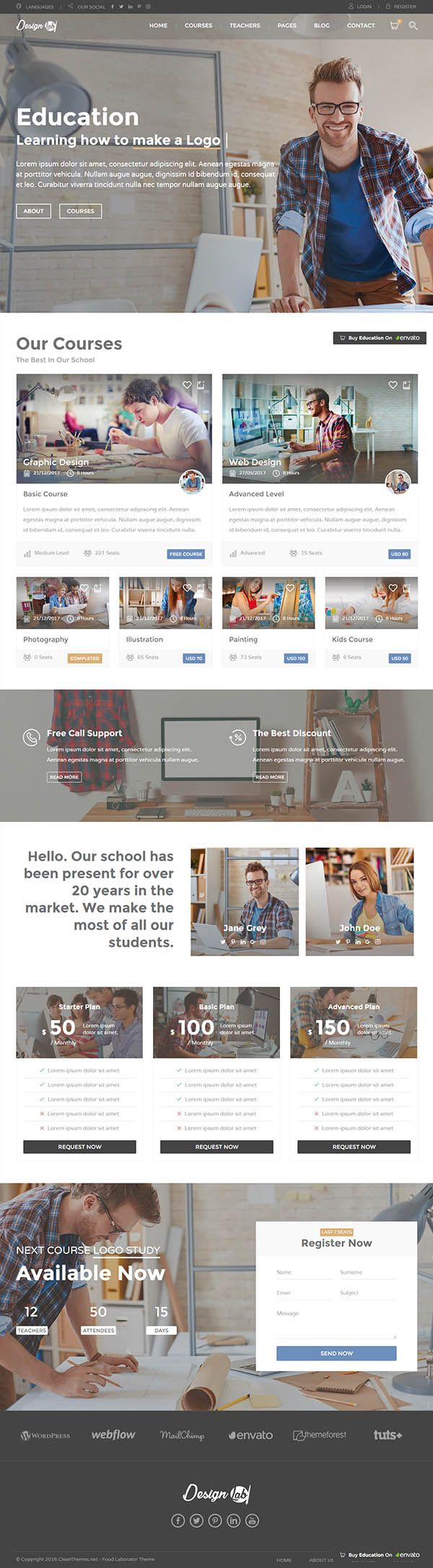 Education - Education Learning Theme For Education Courses School ...