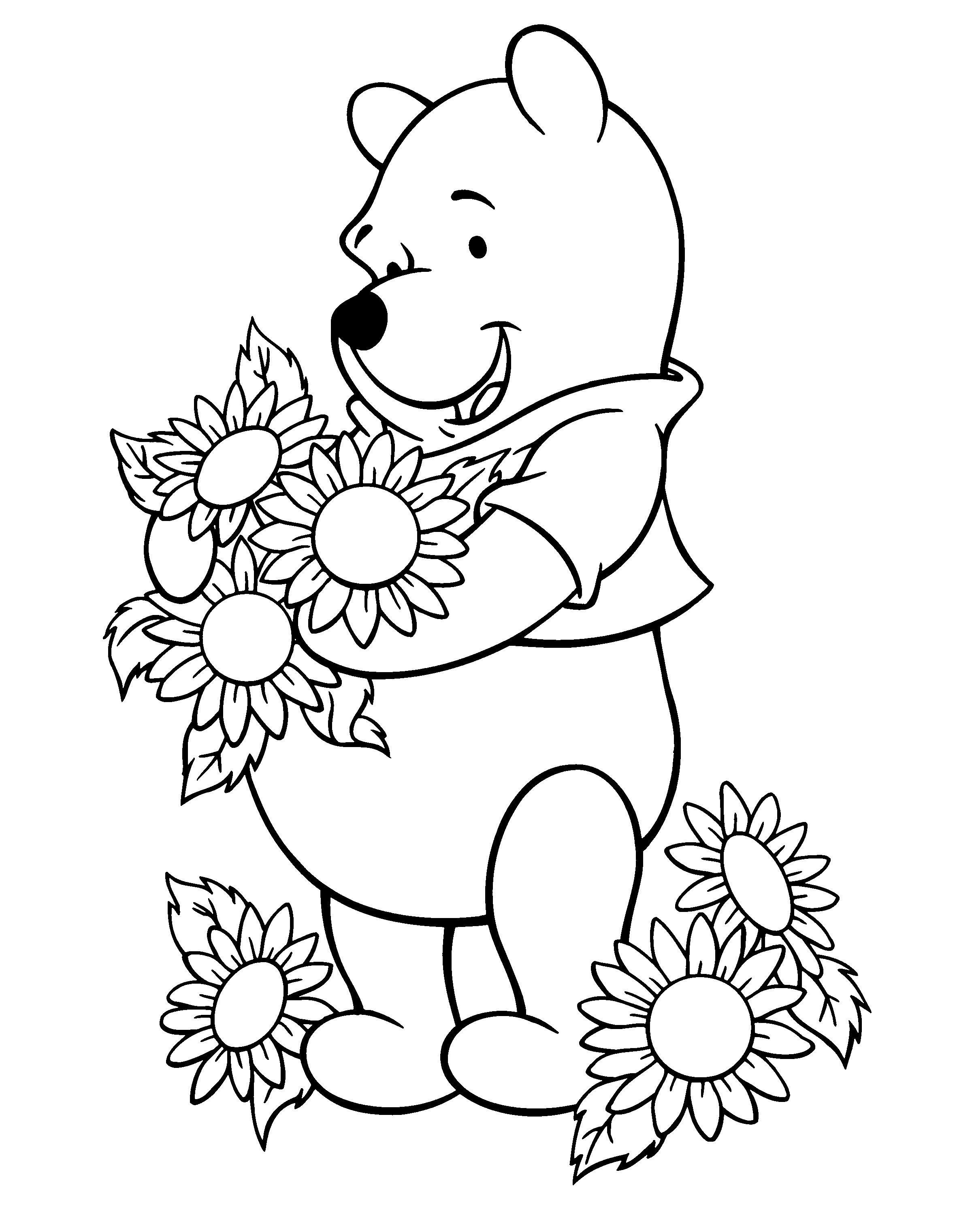 Sunflower coloring pages - Google Search | Adult Coloring Pages ...