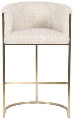 Skylar Barstool Vanguard Furniture Bar Stools Fabric Bar Stool