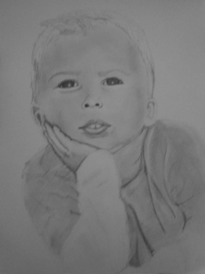 drawing of my nephew
