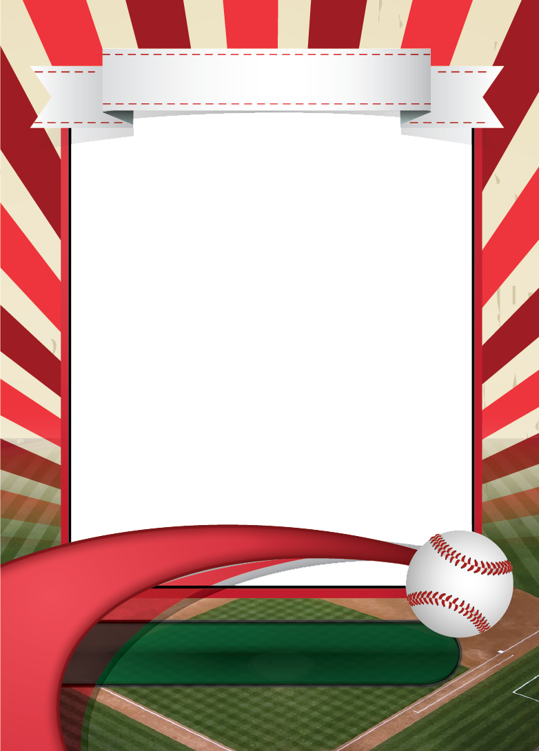 Baseball Card Template Mockup