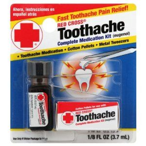 Red Cross Complete Medication Kit Toothache Clove Oil