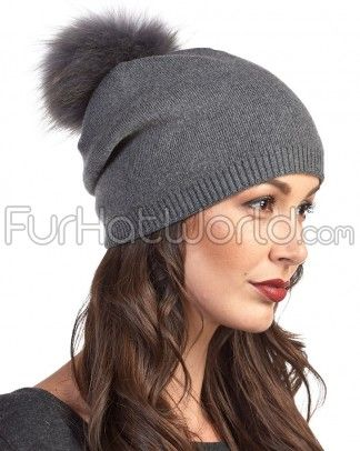 Shop FurHatWorld for the latest style of Fur Pom Pom Hats. Buy The Lyric Charcoal Slouchy Beanie with Finn Raccoon Pom Pom by FRR with fast same day shipping.