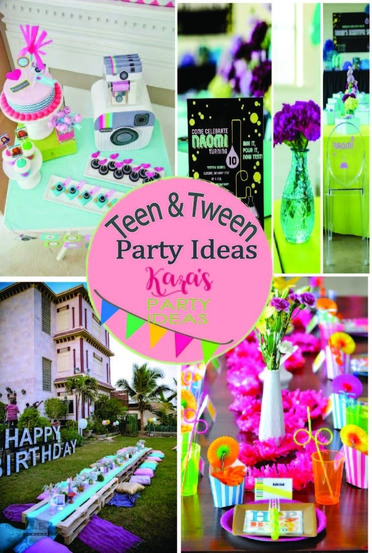 Tween Girl Birthday Party Ideas pertaining to Birthday