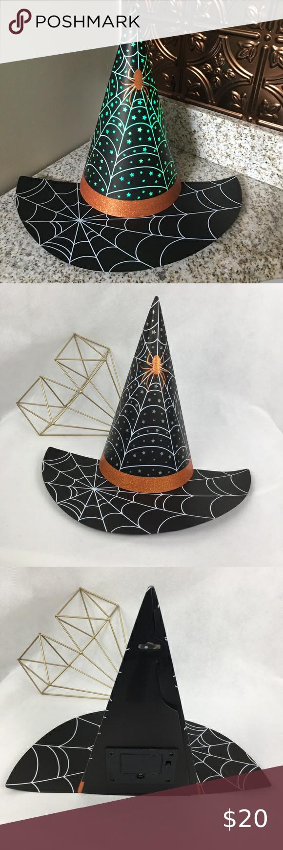 Hallmark Motion Sensor Witch S Hat Motion Sensor Colorful Decor Witch Hat