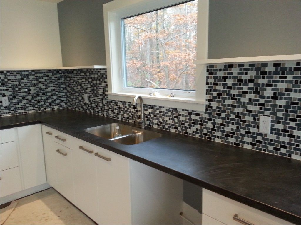 Kitchen tiles design with varying mosaic subway splashbacks get inventive stylish wall walls