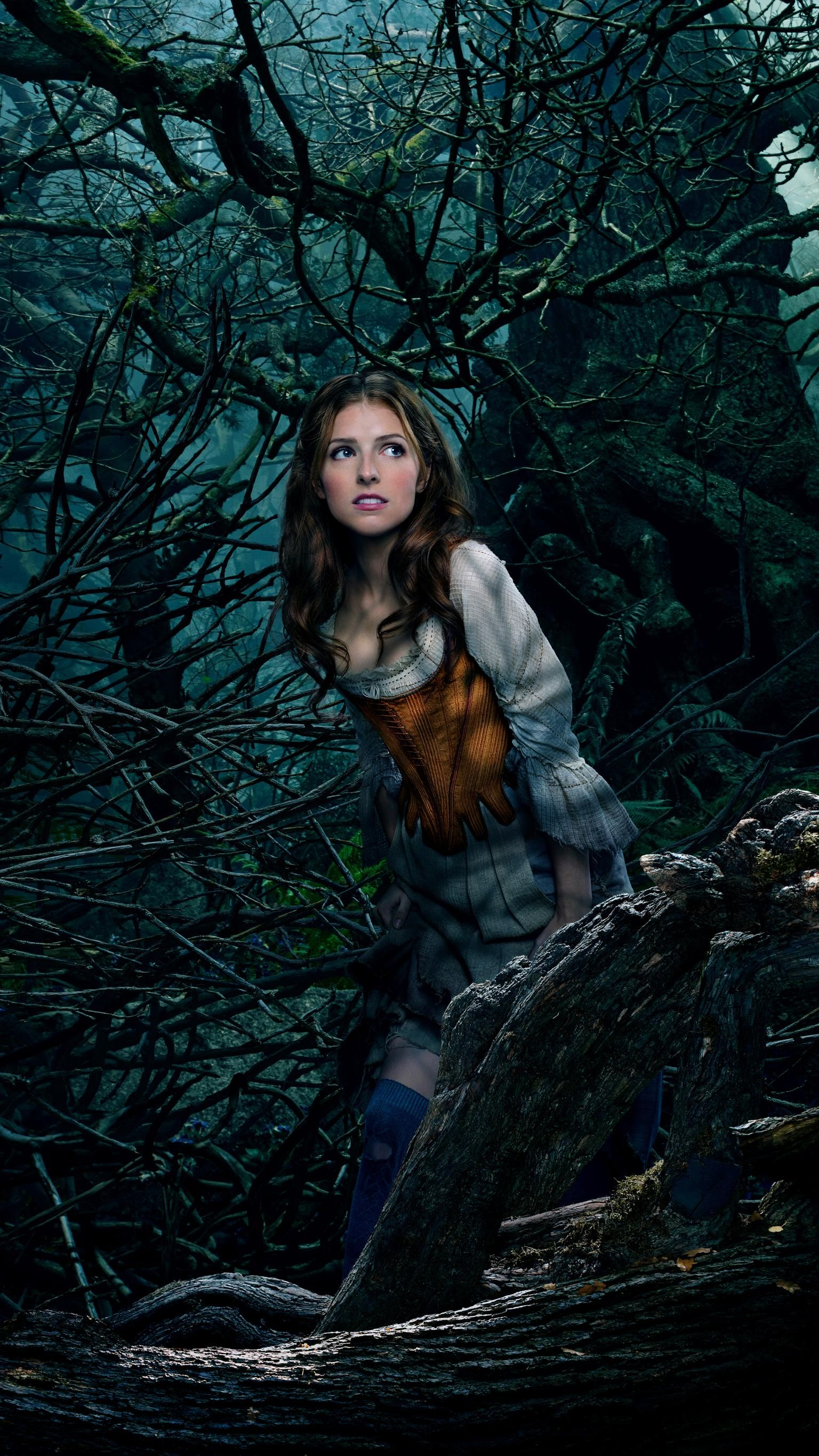Into The Woods 2014 Phone Wallpaper Moviemania Into The Woods Movie Anna Kendrick Disney Live Action Movies