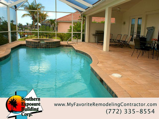 Residential Remodeling Contractors Port St Lucie Fl Indoor Pool Design Indoor Outdoor Pool Small Indoor Pool