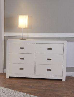 Best The Novara Double Dresser Double Dresser 6 Drawer 400 x 300