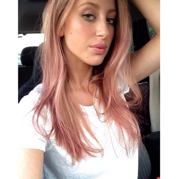 1000+ images about Rose Gold Hair on Pinterest