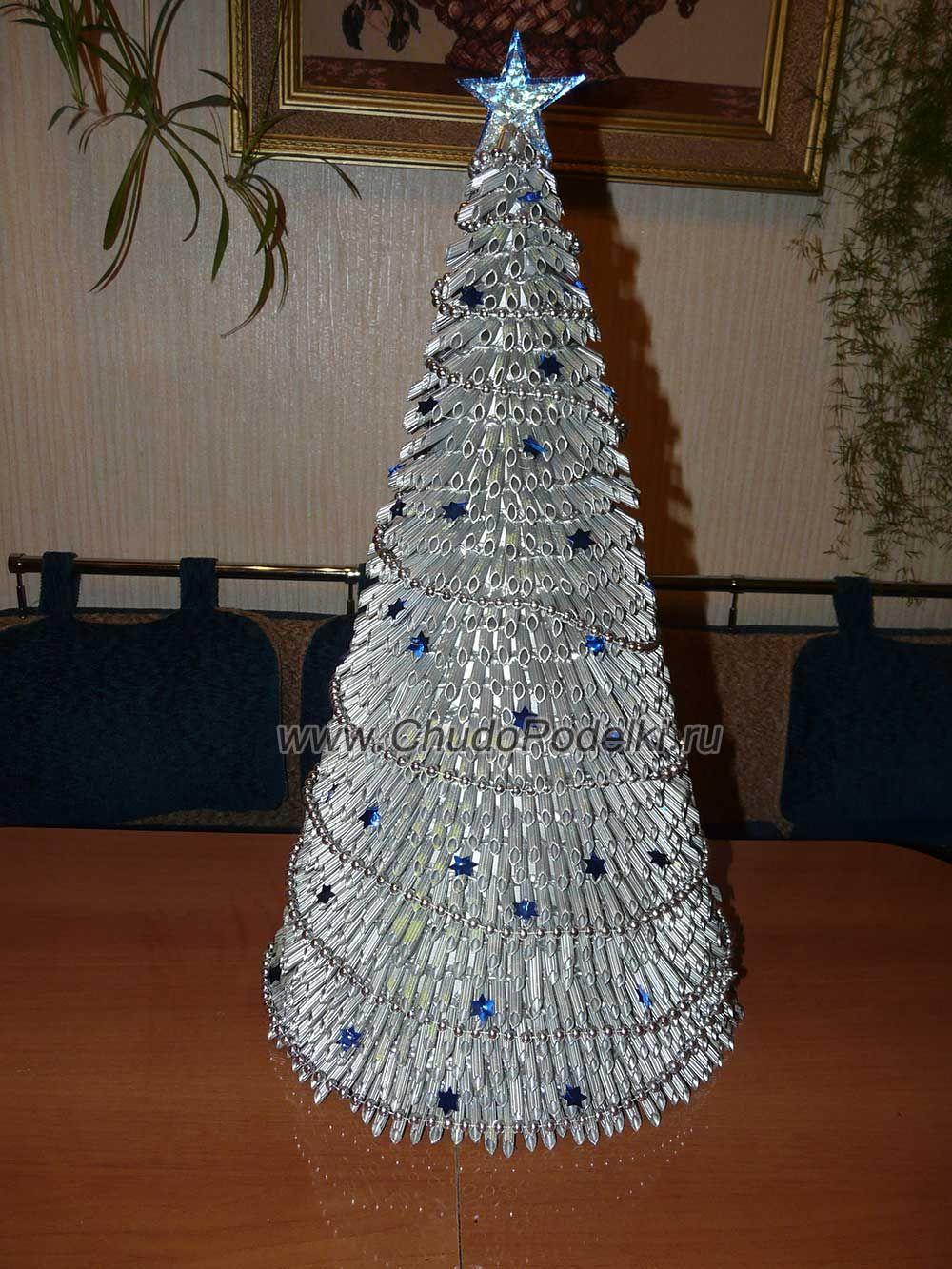 Как сделать новогоднюю елку из макарон фото 217