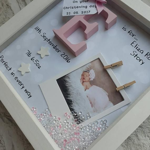 New Baby Gift, Baby Girl Gift, Gifts For Newborn, 1st Birthday gift, Goddaughter Gift, Gift For Niece, Nursery Print, Personalised Keepsake #lustigegeschenke