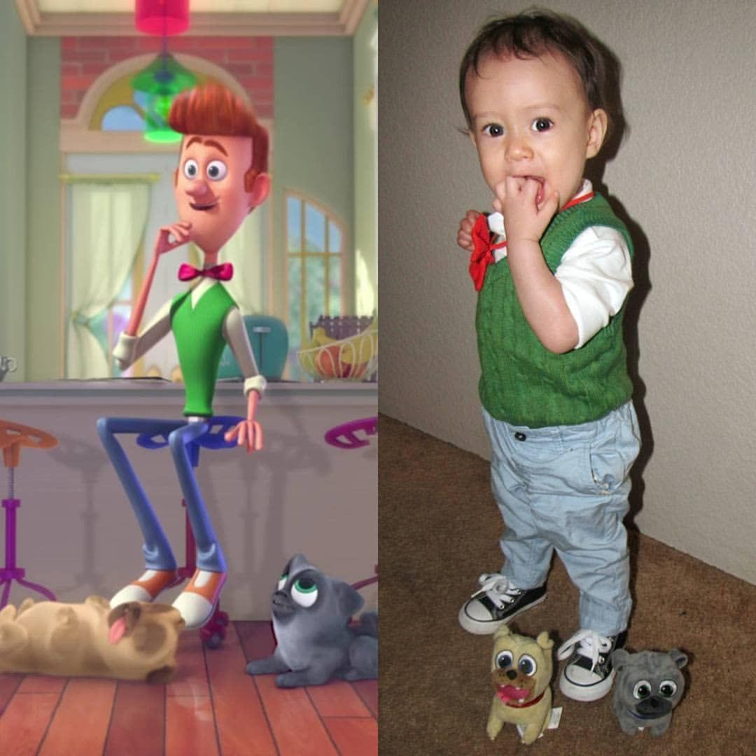 """Disney Junior puppy dog pals halloween costume """"Bob""""  d5a00f8cf52"""