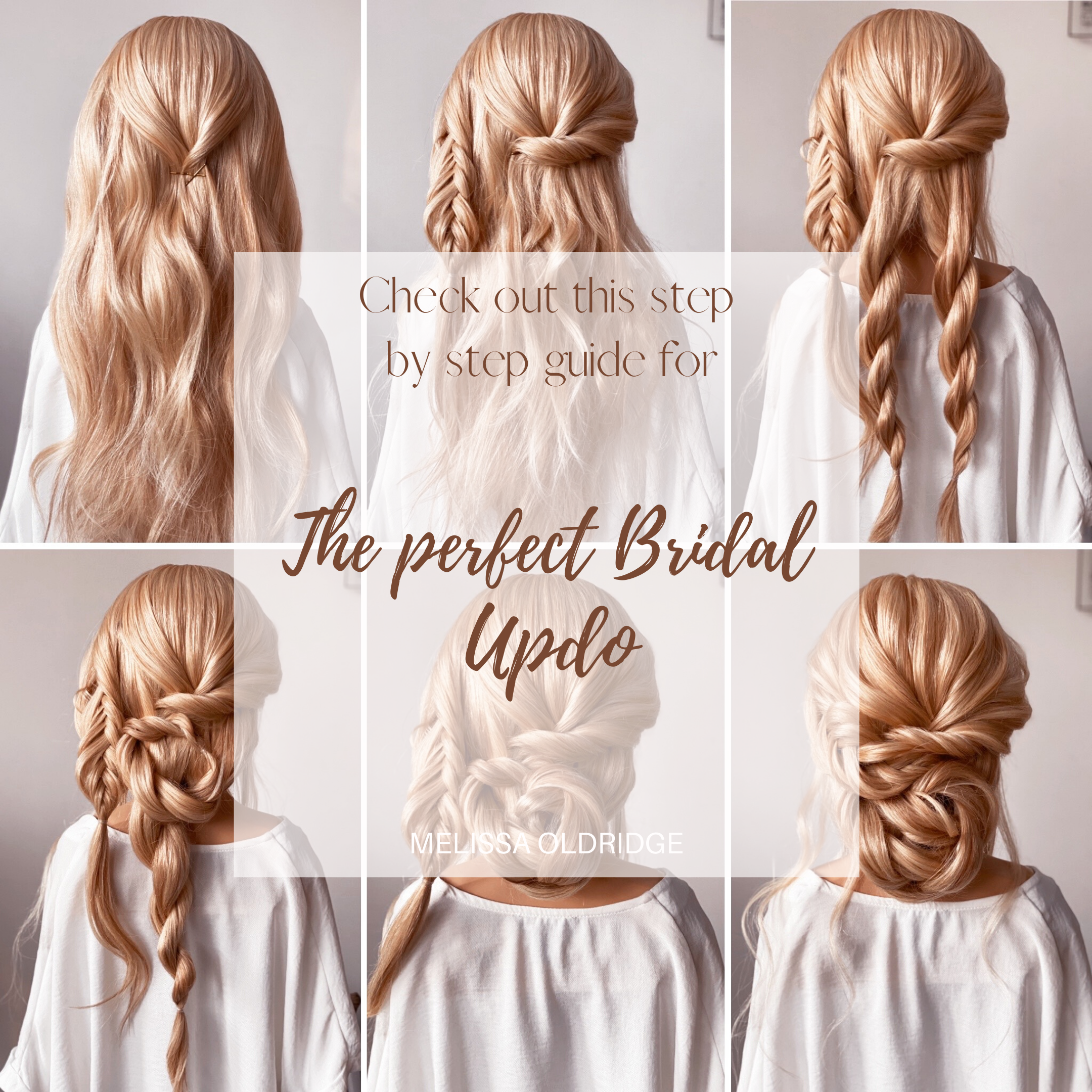 How To Create The Perfect Bridal Hair In 2021 Simple Prom Hair Long Hair Updo Bridal Hair Half Up