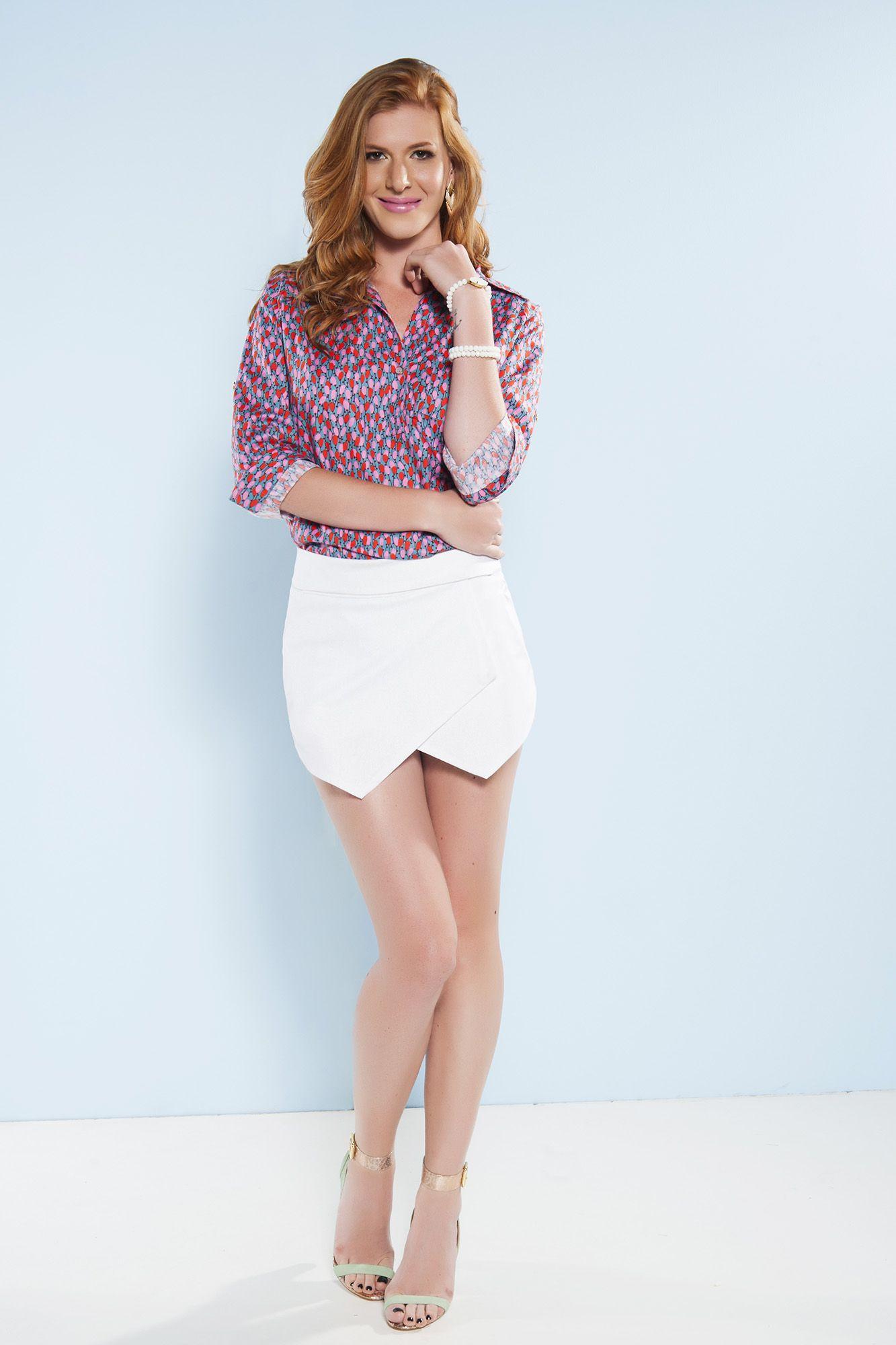 Shorts-Saia Maresias Branco