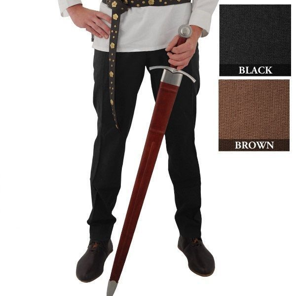 Renaissance Pirate Cosplay SCA LARP drawstring pants n7LeL21