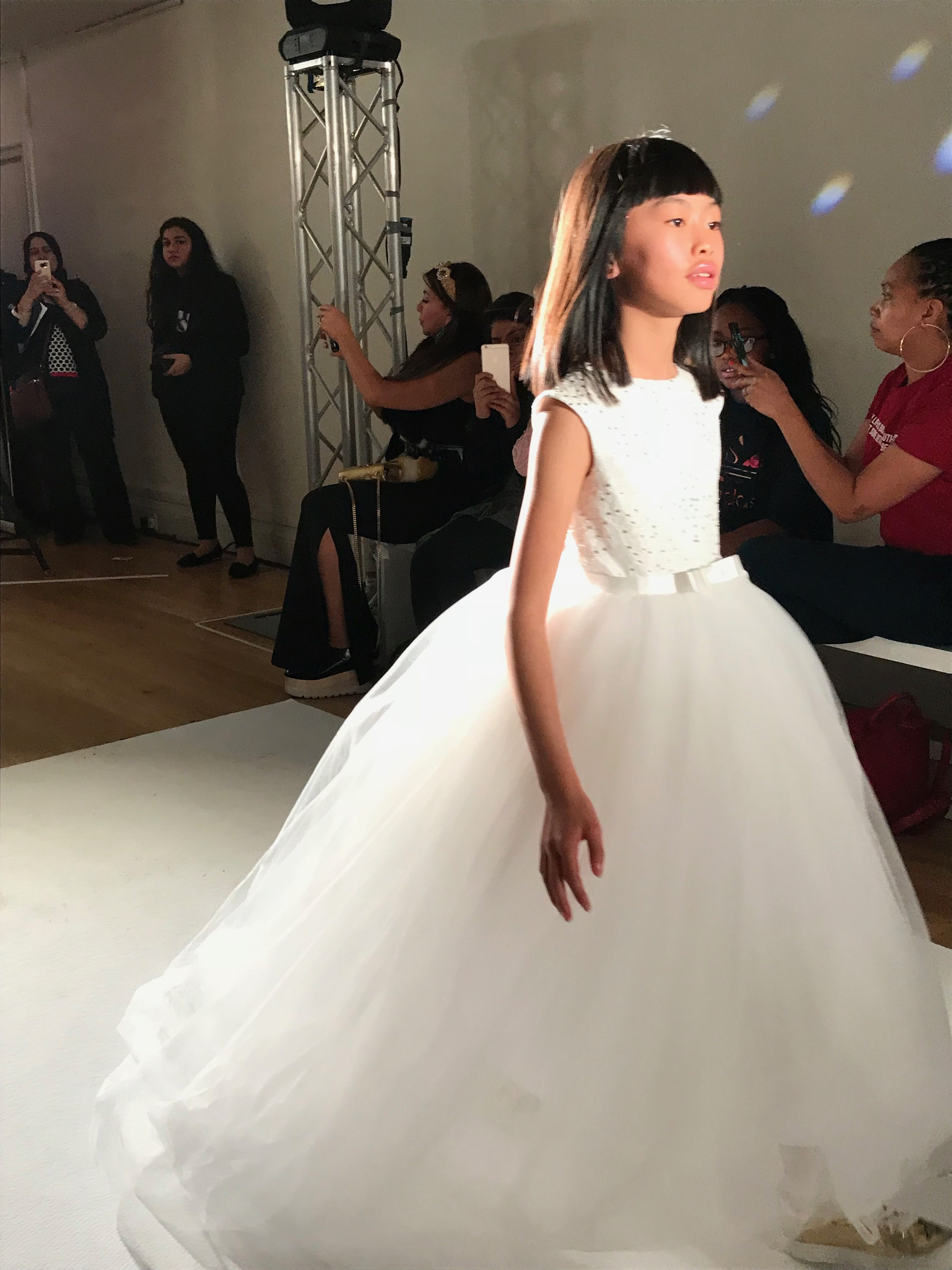 Kids premier catwalk show mini mode february th during lfw