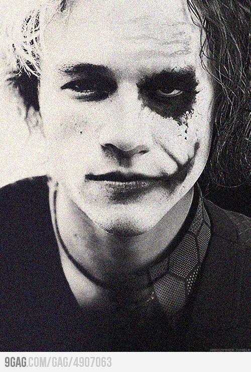 Heath Ledger & The Joker