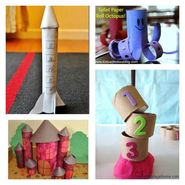 Toddler Crafts With Paper Towel Rolls: 12 Toilet Paper Roll Crafts For Kids