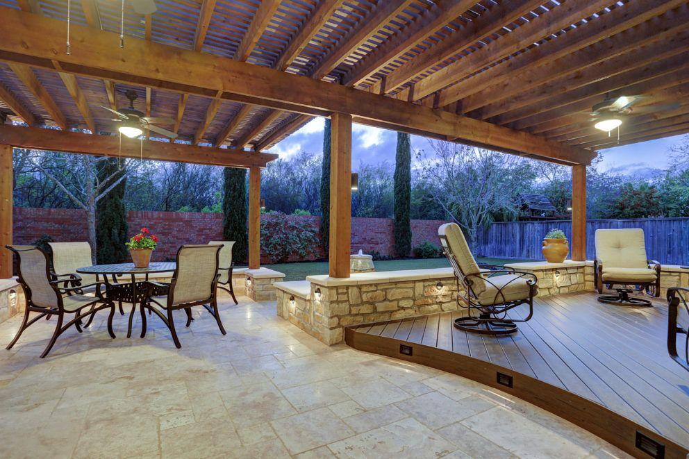 Deck and pergola houston pergola building a patio