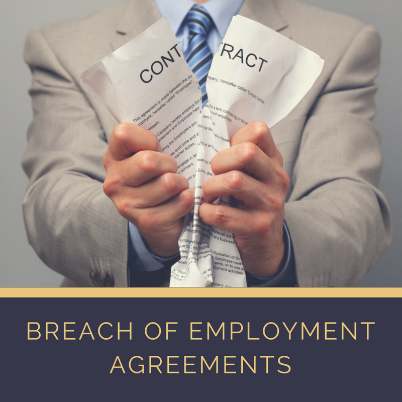 To Read About Employment Agreements And How We May Be Able To Help