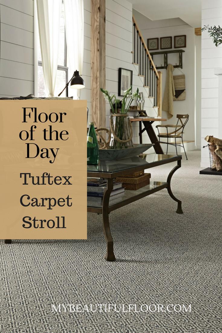 Better Quality Carpet Makes A Statement Shown Tuftex Stroll Floor Carpet Flooring Living Room Carpet Home Decor Diy Carpet