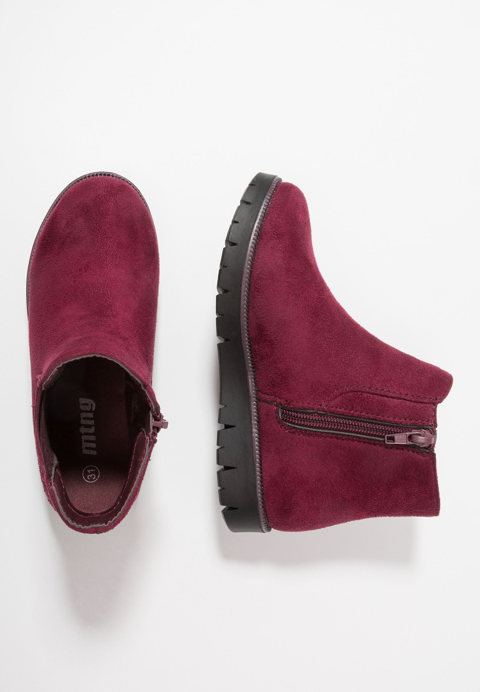 Mtng Ali Botki Timba Burgundy Zalando Pl Mule Shoe Heeled Mules Heels