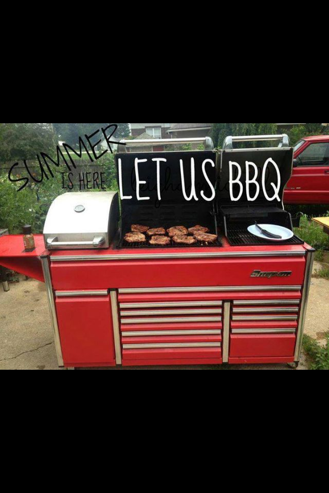 Man Cave Zen Dry Rub : Toolbox bbq grill man cave garage grills the