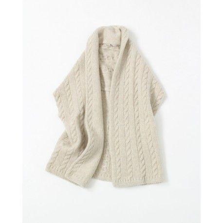 Wool Stretch Knit Vest