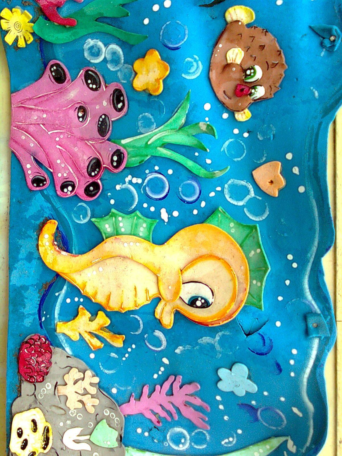 Mar Caballito De Mar Mar Animado Caballito De Mar Manualidades