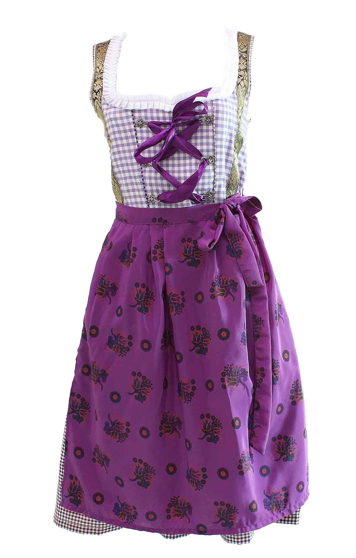 Midi Dirndl Nadja Lilac Purple (mit Bildern) | Dirndl