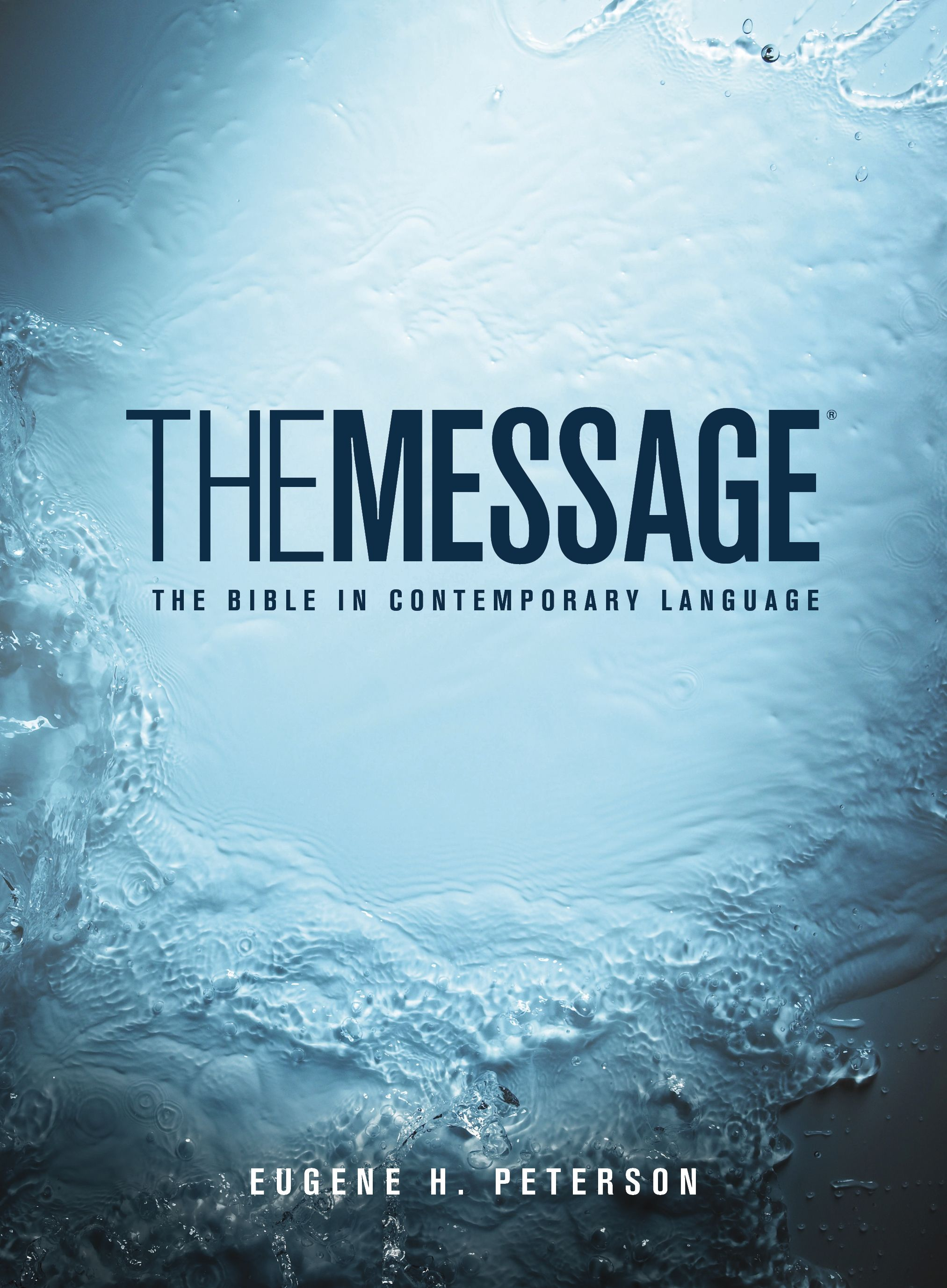 Plunged Into A World Of Presence Message Bible Translations I The Translation Or Paraphrase